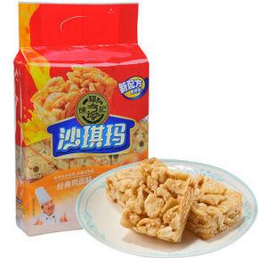 徐福记 沙琪玛 经典鸡蛋味 470g *3件   28.6元(买3免1)