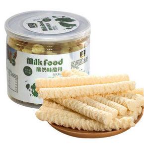 雪原 零食奶酪 原味酪丹 300g*4罐 49.6元(99.6-50)