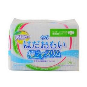 尤妮佳 苏菲 柔肤超薄日用卫生巾 21cm*25片*4件 45.9元(152-116+9.9)
