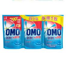 ≥金牌会员# 奥妙 净蓝全效高浓度洗衣液 500g*3袋 11.9元