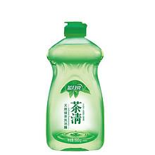 蓝月亮 茶清天然绿茶洗洁精 500g*2瓶 9.9元