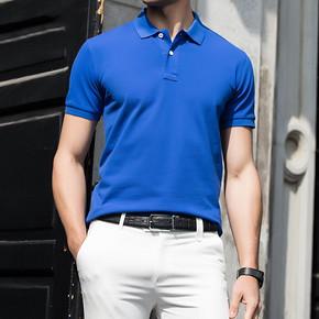 蓝威堡男士纯棉短袖polo衫 48元包邮(148-100券)