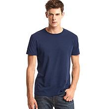 Gap 男士基本款纯色纯棉圆领T恤 59元包邮