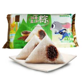 百年工艺# 五芳斋 润香豆沙口味速冻粽子 50g*8只 15.9元