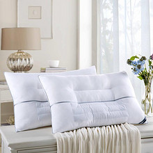 舒适睡眠# 安睡宝 柔绒决明子纤维枕头2只装 99元