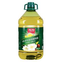 加加 非转基因山茶籽食用调和油4L 39.9元