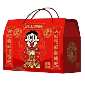 手机端# 旺旺 13款经典美食大礼盒808g 19.9元