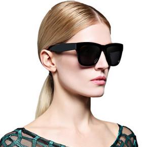 PARZIN 帕森 复古时尚偏光太阳镜  79元包邮