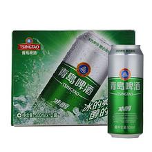 青岛啤酒 冰醇啤酒 500ml*12听 35元包邮
