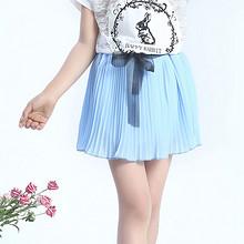 宝妈速抢# 艾比豆 女童夏季时尚半身裙 9.9元包邮