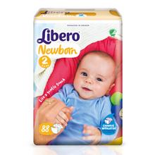 自由活动# 丽贝乐 婴儿纸尿裤 NB 88片 88元