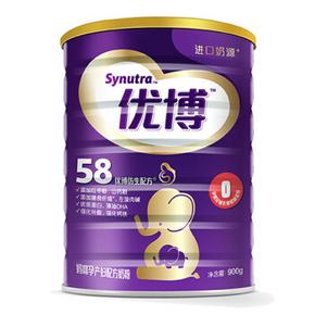 圣元 优博孕产妇妈咪奶粉 0段 900g*2 188元包邮(376,买2免1)