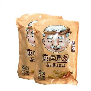 康辉 带壳水煮卤汁花生 7358g*2袋 14.9元包邮(24.9-10券)