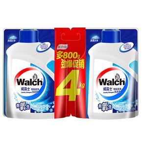 威露士 有氧倍净洗衣液补充装 2kg+2kg*2套 58.9元