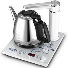 澳柯玛 不锈钢自动上水电水壶茶具套装 99元
