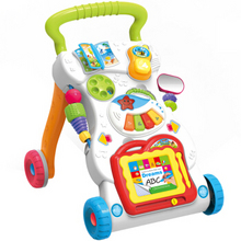 plus好价# 贝恩施 婴幼儿多功能学步手推车*2件 116元(136-20)