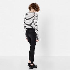 PullAndBear 春夏新款女士紧身款牛仔裤  79元