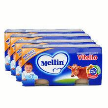 Mellin 意大利美林 1段小牛肉泥 80g*8瓶 78元包邮
