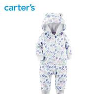 双11预售#  Carter's 小熊摇粒绒儿童长袖连体衣   59元(定金10+尾款49)