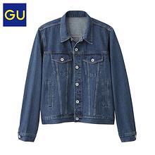双11提前加购# GU 极优 男士牛仔夹克 179元包邮