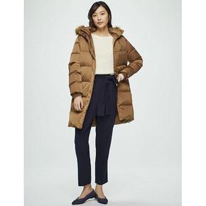双11提前加购# GU 极优 女士长款羽绒大衣 399元