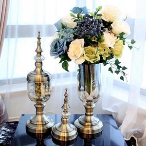 凯斯黛尔 欧式玻璃花瓶摆件