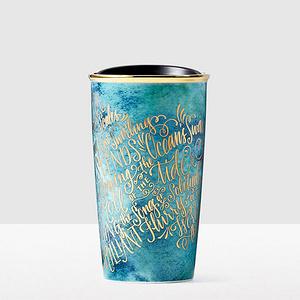 星巴克 双层陶瓷随行杯