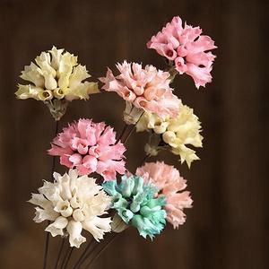 拾花集 康乃馨装饰干花