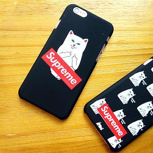 中指猫iPhone手机壳